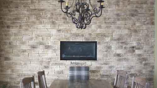 Briquette Decorative Interieure